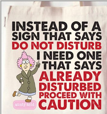 aunty acid proceed with caution