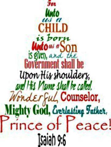 christmas isaiah 9 6