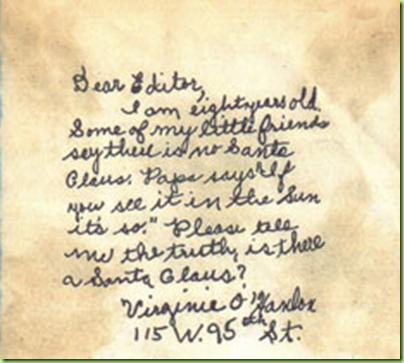 christmas virginia letter