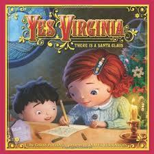 christmas yes virginia graphic
