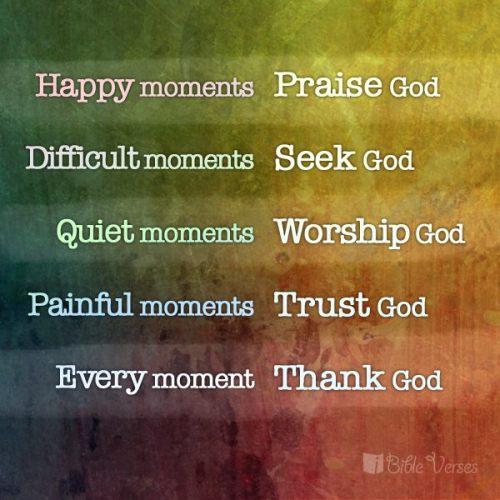 moments god