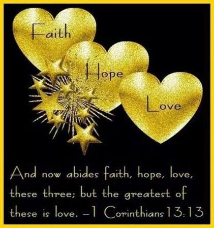 NEW YEARS 1 corinthians 13 13