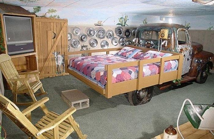 redneck bedroom