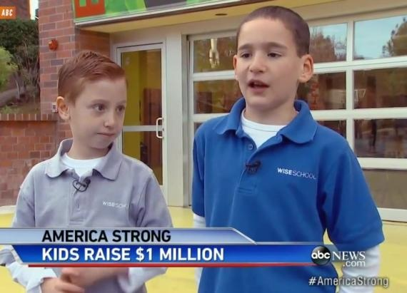 kids raise 1 million
