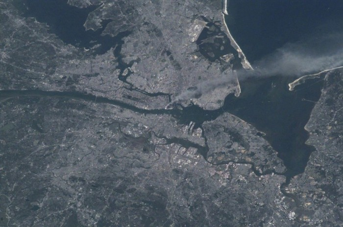 newyork 911 from space