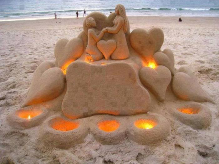 sand manand woman