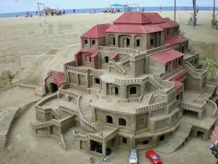 sand mansion