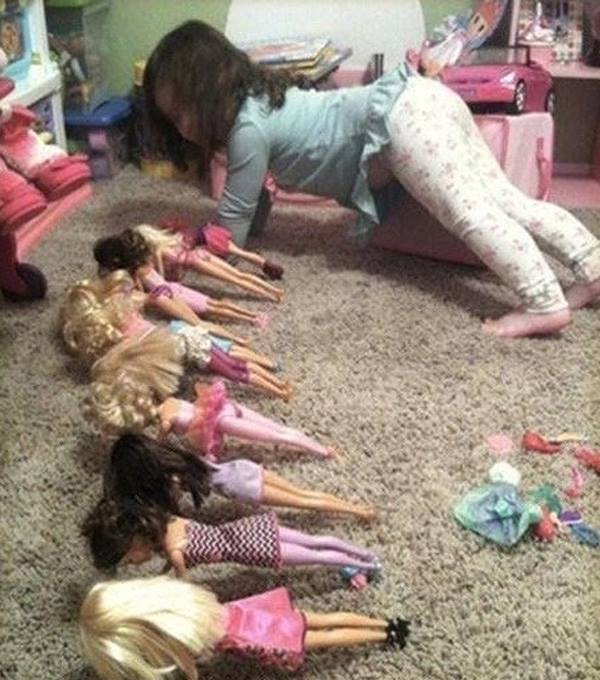 barbie push up