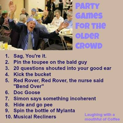 party games for older crowd