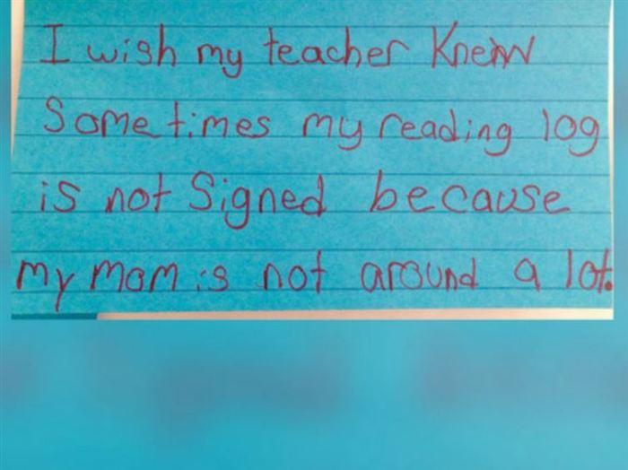 teacher asks