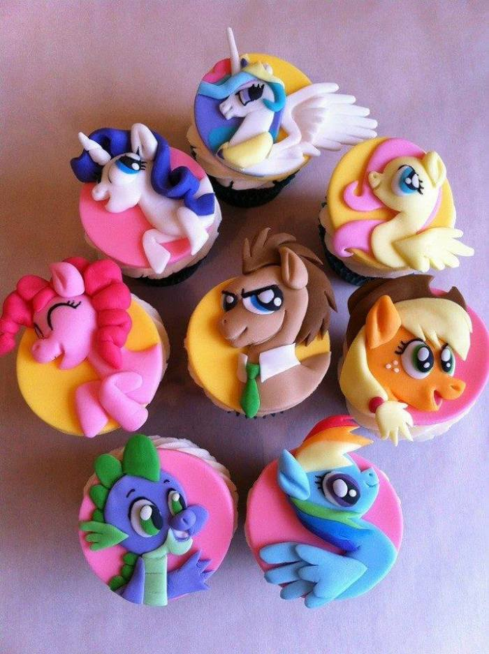 cupcakes mythical animals