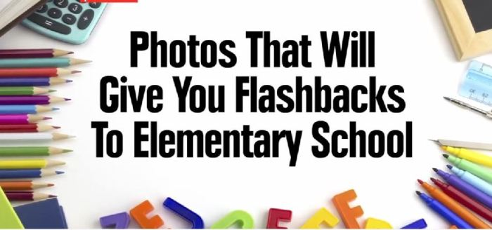 flashback photos of school