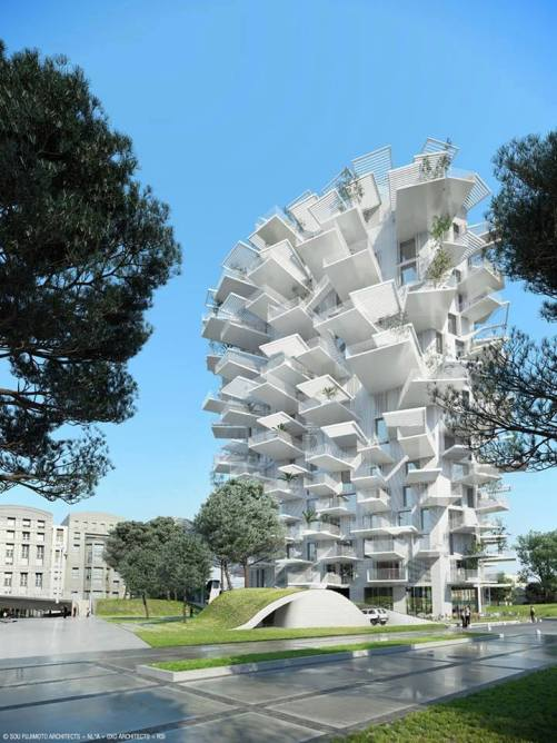 The White Tree Tower by Sou Fujimoto, Montpellier, France2