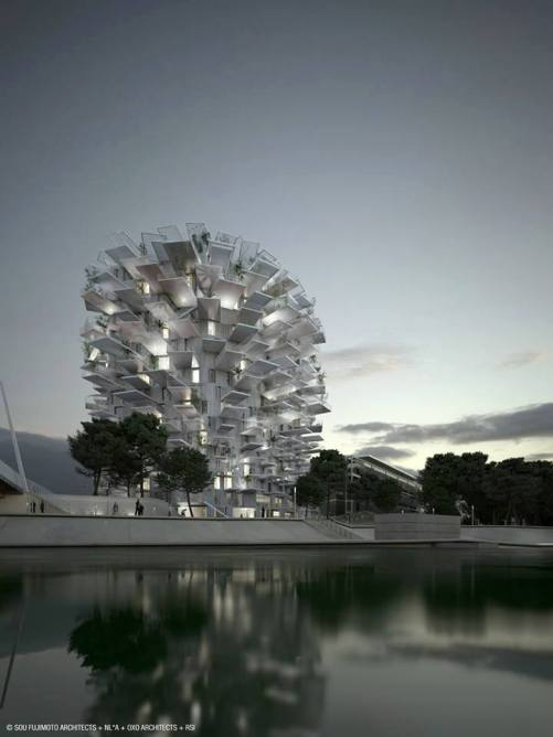 The White Tree Tower by Sou Fujimoto, Montpellier, France3