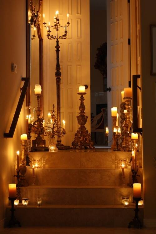 CANDLE STAIRS 2