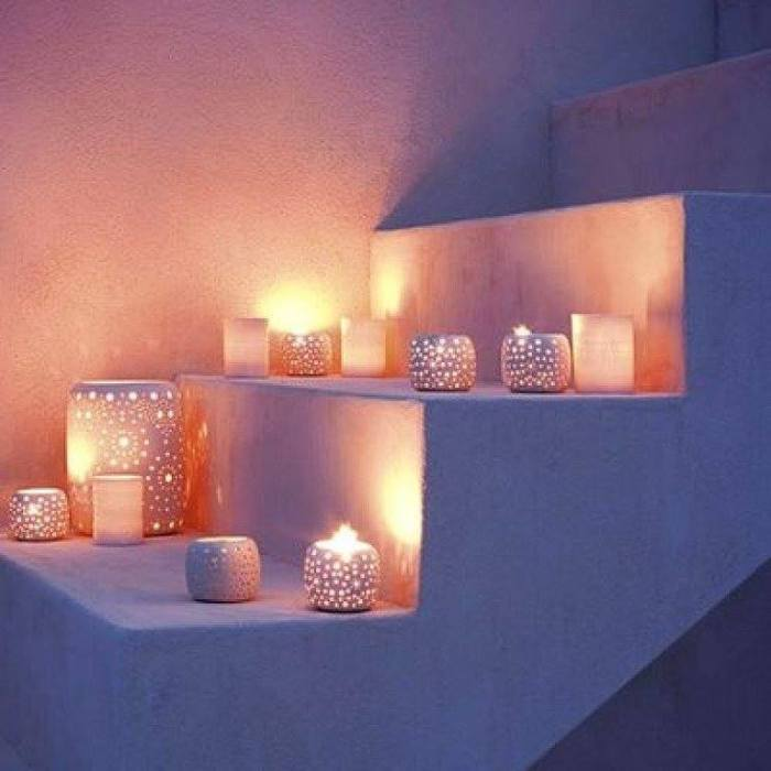 CANDLE STAIRS 5