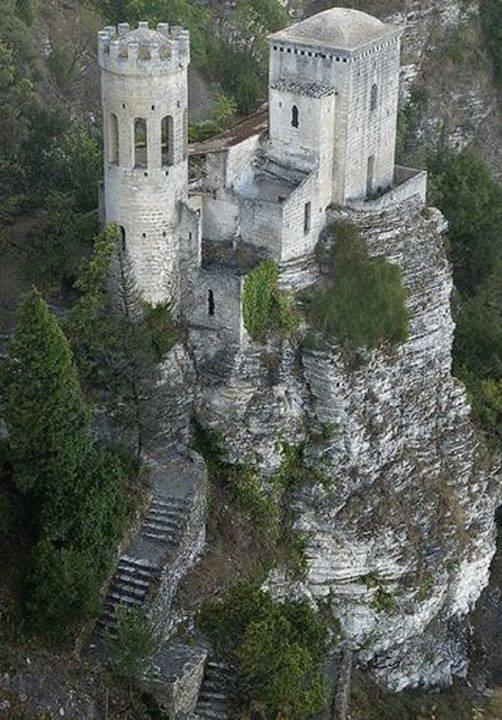 Venus Castle, Sicily, Erice