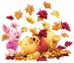 happy fall winnie pooh