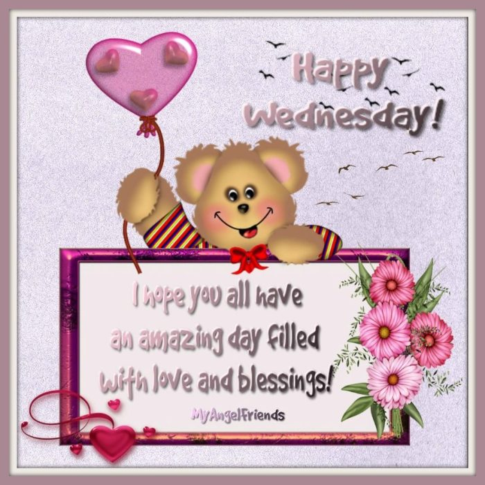 happy wednesday my angel friends