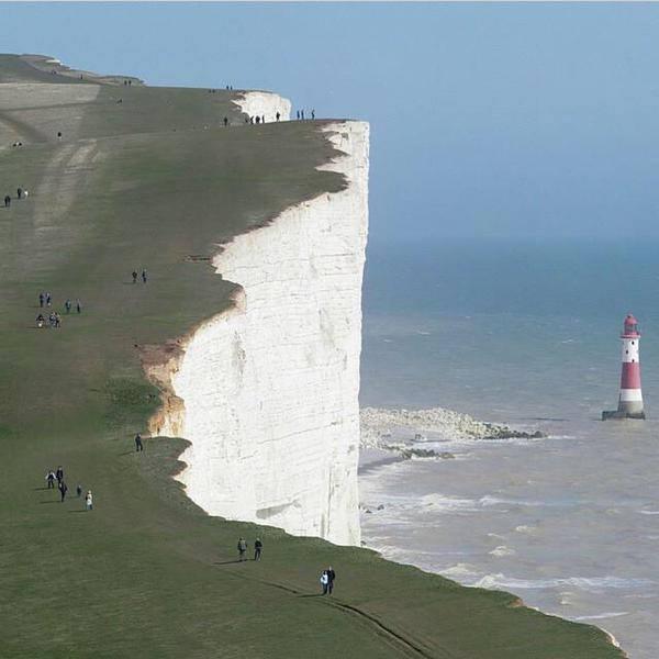 Beachy Head Cliffs, England.