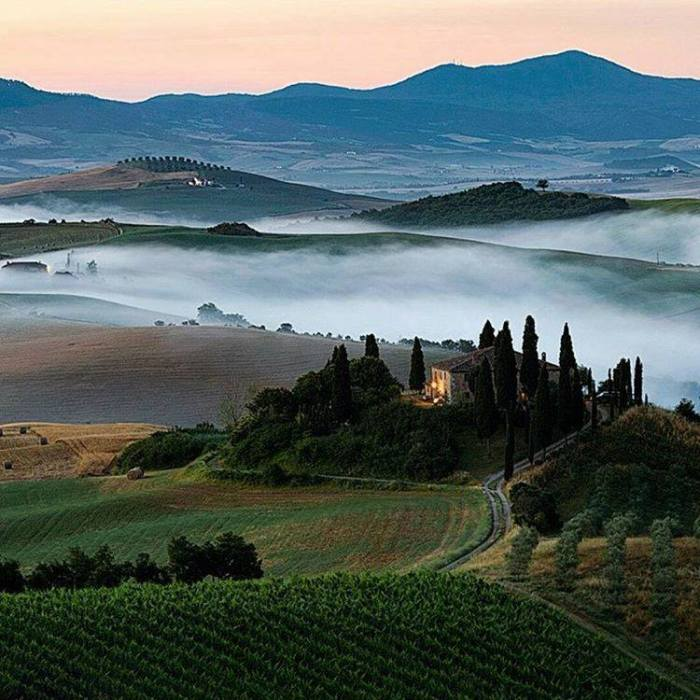 Calm and Peaceful. Tuscany, Italy
