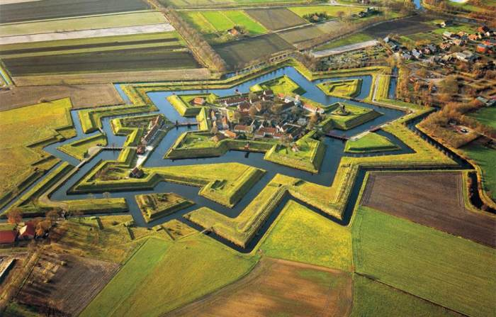 aerial-photography-fort-bourtange-netherlands
