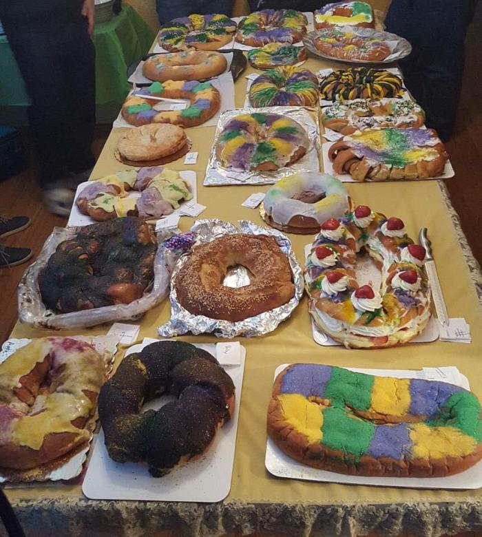 variety of king cakes