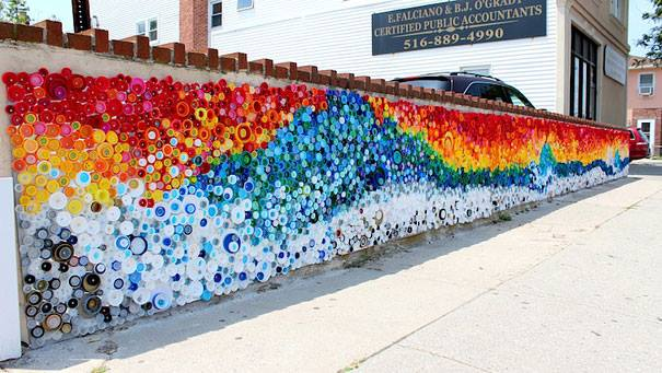beautiful-mosaic-from-caps-left-by-hurricane-sandy